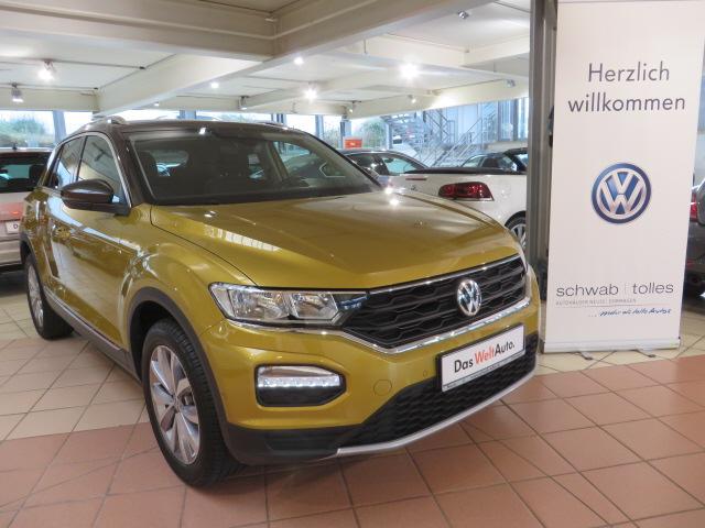 Volkswagen T-ROC Style 1.6TDI BMT, Jahr 2019, Diesel