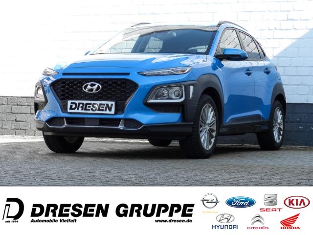 Hyundai Kona YES! 2WD 1.0 T-GDI Navi/Rückfahrkamera/Sitz+Lenkradheizung, Jahr 2019, Benzin