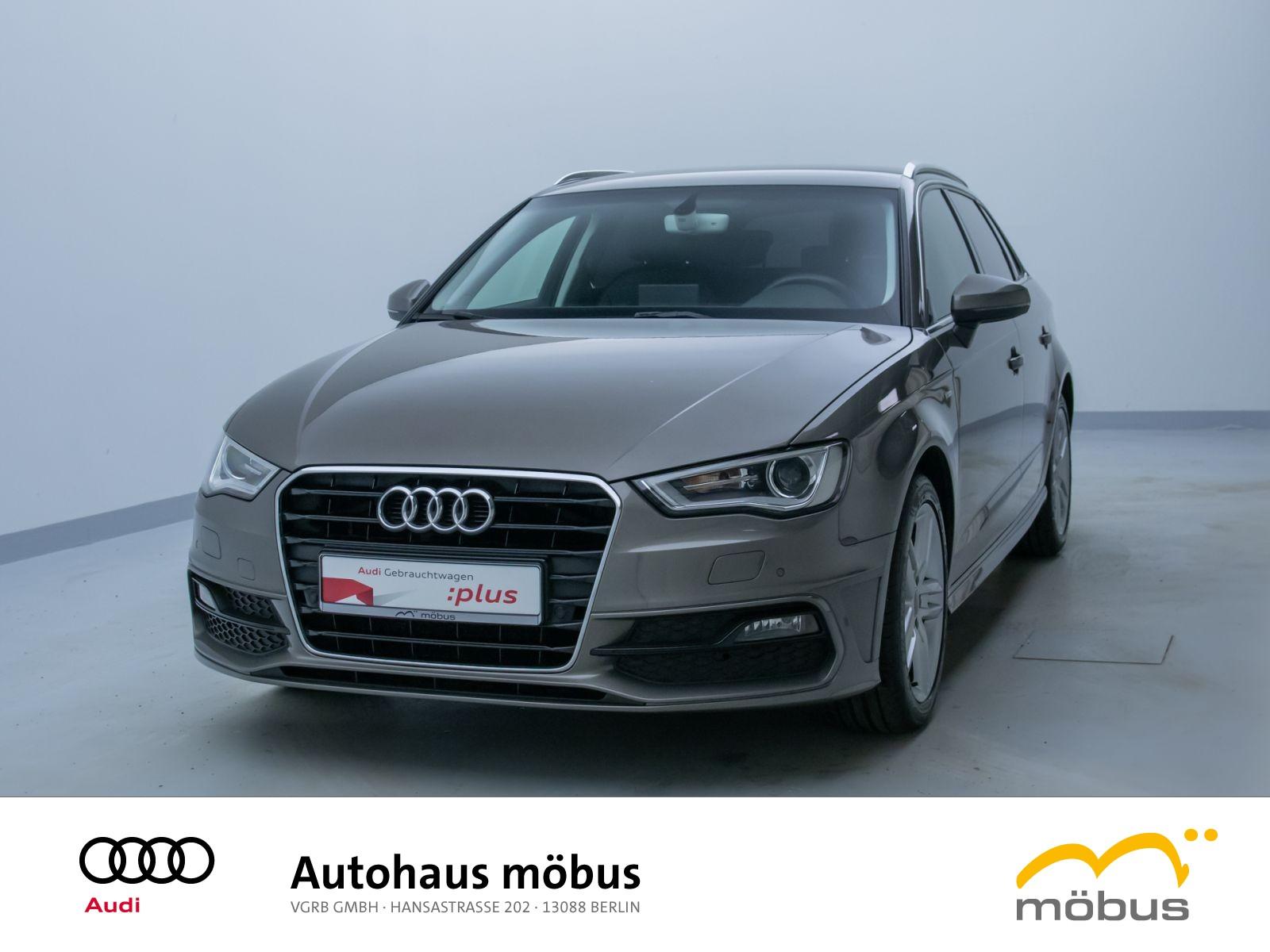 Audi A3 Sportback Attraction 1.4 TFSI S-TRO*SLINE*LED, Jahr 2015, Benzin