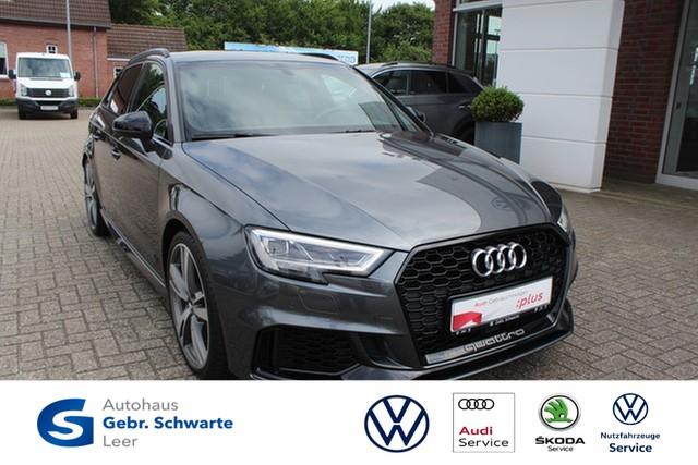 Audi RS3 Sportback 2.5 TFSI S-tronic quattro ACC+B&O+LED+LEDER+NAVI+VIR, Jahr 2018, Benzin