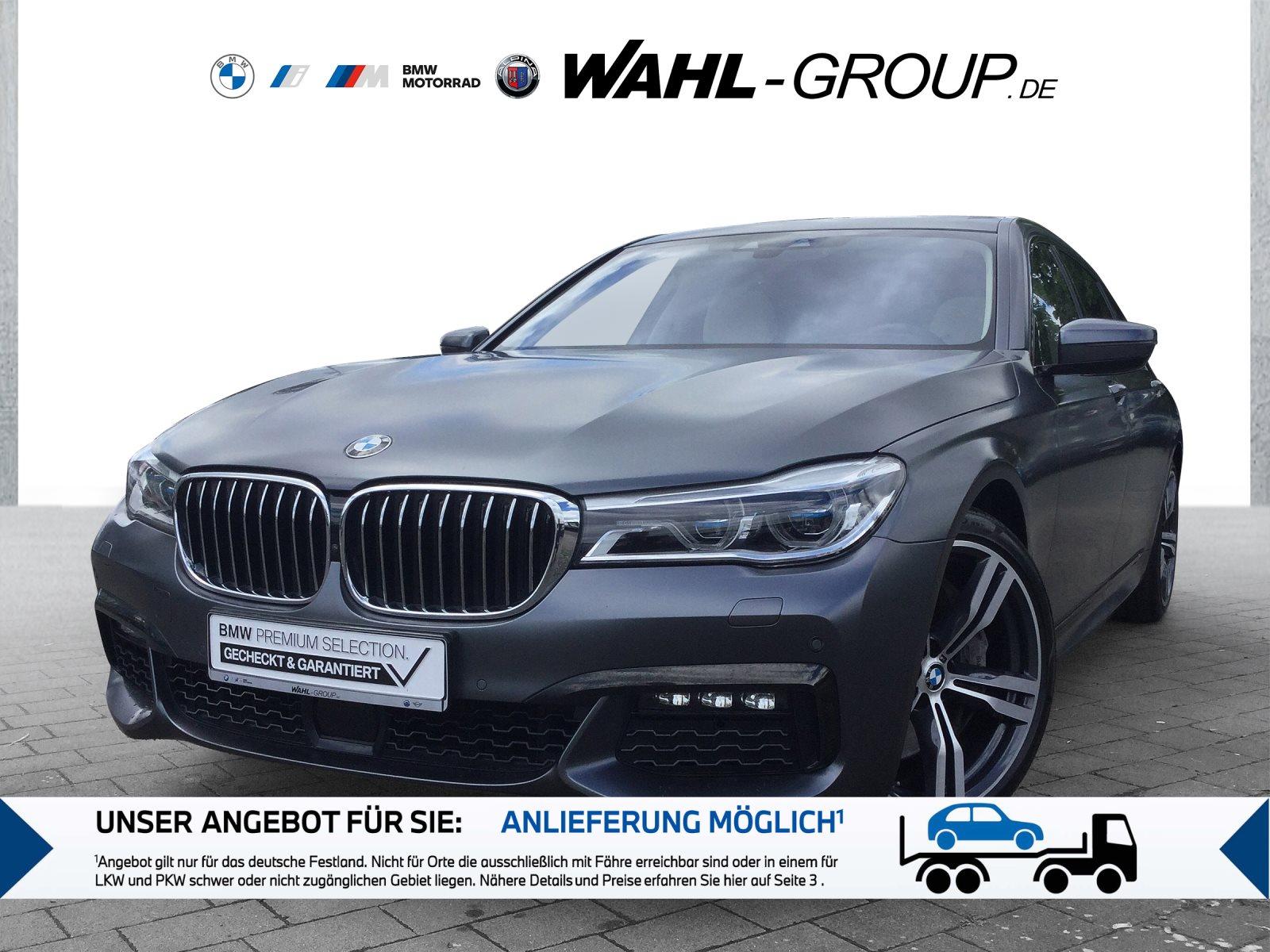 BMW 750i Li xDrive M Sportpaket Touch Command Head-Up, Jahr 2018, Benzin