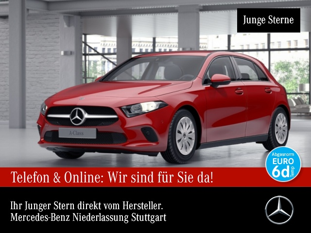Mercedes-Benz A 200 AHK Spurhalt-Ass PTS 7G-DCT Sitzh, Jahr 2018, Benzin