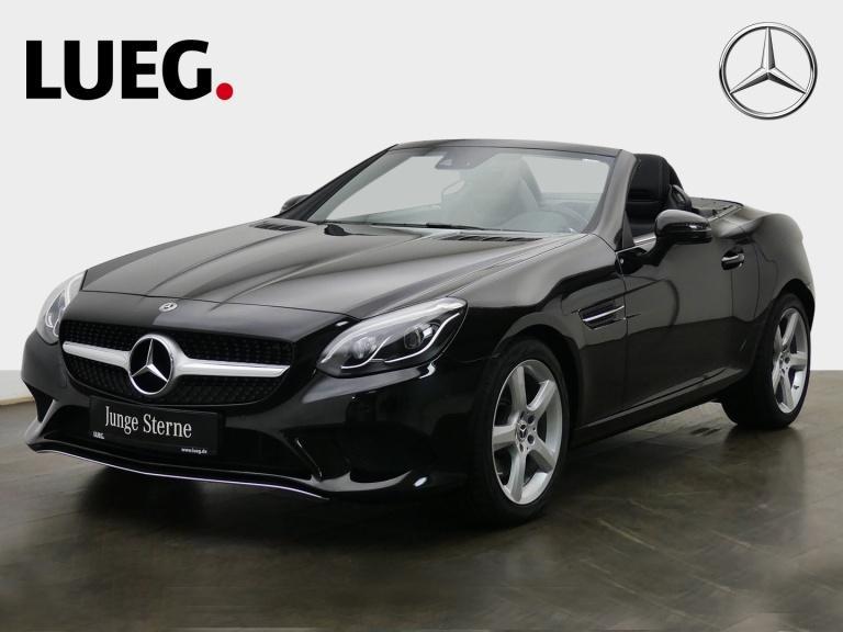Mercedes-Benz SLC 200 Navi+Pano+LED-ILS+AIRSCARF+SHZ+Totw+PTS+, Jahr 2019, Benzin