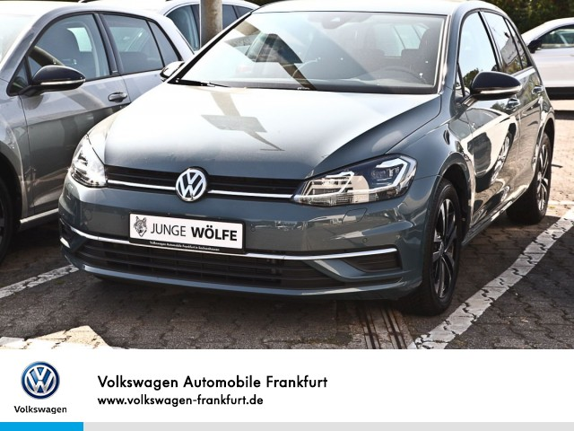 Volkswagen Golf VII 1.0 TSI IQ.DRIVE FrontAssist BlindSpot Standheizung Anschlussgarantie Golf 1,0 CL BT085 TSIM6F, Jahr 2019, Benzin