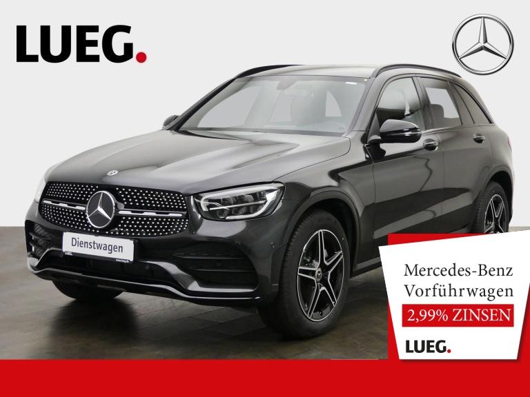 Mercedes-Benz GLC 200 d 4M AMG+NIGHT+LED+KAMERA+PTS+SHZ+MBUX, Jahr 2020, Diesel