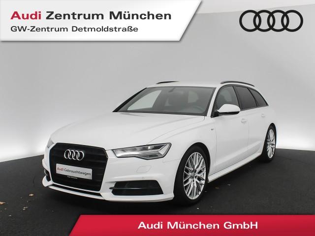 Audi A6 Avant 2.0 TDI S line AHK Standhz. LED Navi Teilleder R-Kamera S tronic, Jahr 2017, Diesel