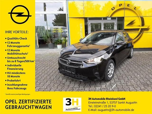 Opel Corsa 1.2 Edition EURO6d*Klima*Radio*BT*Isofix, Jahr 2020, Benzin