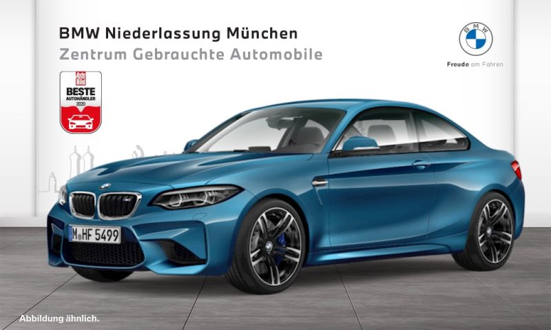 BMW M2 Coupé M Drivers P. HK HiFi DAB LED RTTI Shz, Jahr 2017, Benzin