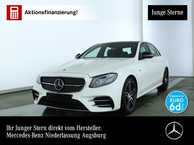 Mercedes-Benz E 53 4M AMGFahrass Widesc Multib Pano ABC 360°, Jahr 2019, petrol