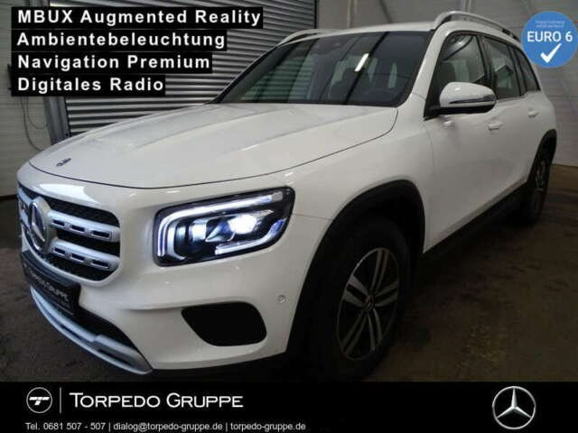 Mercedes-Benz GLB 180 d STYLE LED+MBUX+AR+KAMERA+PTS+SHZ+KLIMA, Jahr 2020, Diesel