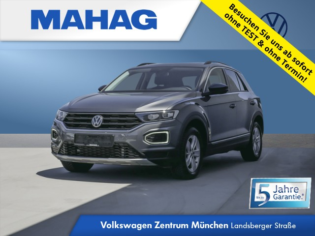 Volkswagen T-ROC 2.0 TDI 4mot. IQ.DRIVE Navi LED ActiveInfo Panorama Standhz. Kamera AppConnect ParkAssist FrontAssist 18Zoll DSG, Jahr 2020, Diesel