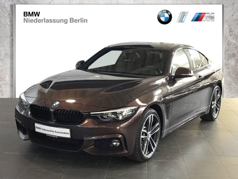 BMW 435d xDrive Coupé EU6 Aut. M Sport NaviProf. GSD, Jahr 2018, Diesel
