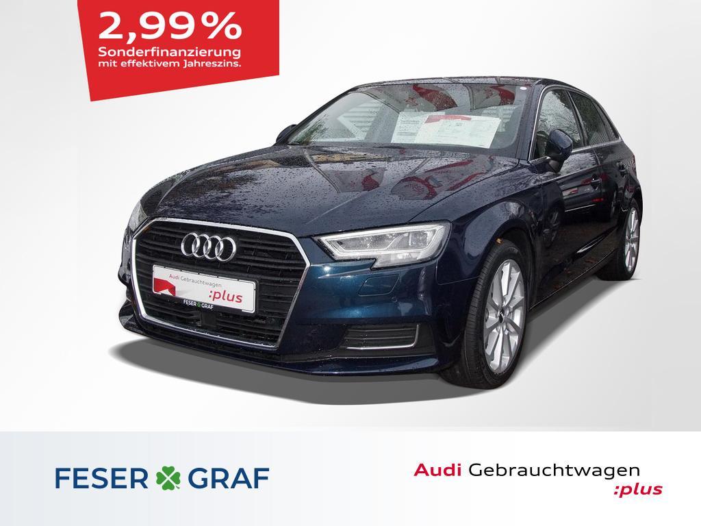 Audi A3 Sportback Design 2.0 TDI ACC/MagneticRide/LED, Jahr 2017, Diesel