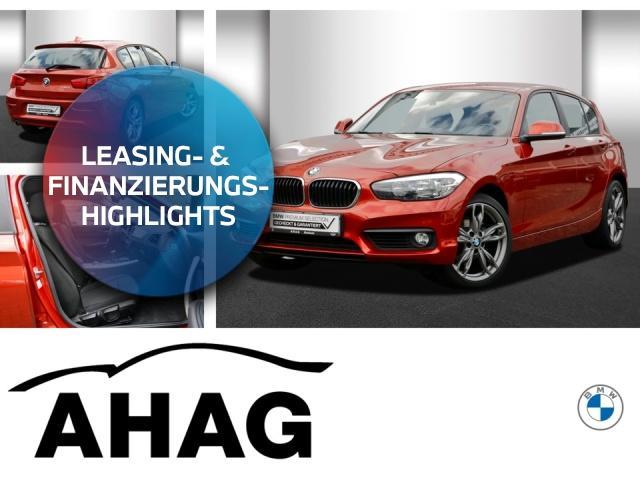 BMW 118d Advantage Navi Business AHK LM PDC NSW, Jahr 2017, Diesel