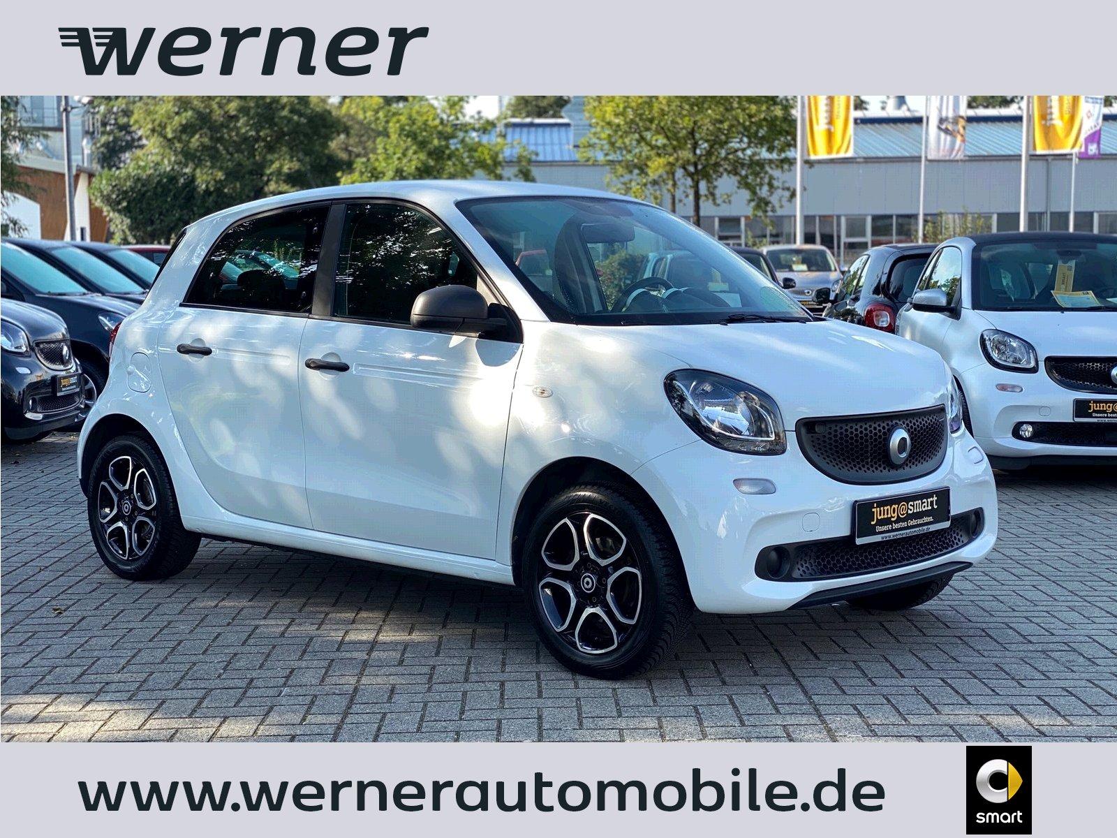 smart forfour 45 KW KLIMA~LM~SERVO~TEMPOM.~RADIO~ZV, Jahr 2015, Benzin