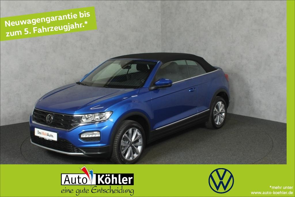 Volkswagen T-Roc Cabriolet Style TSi Anhängekupplung abnehm, Jahr 2020, Benzin