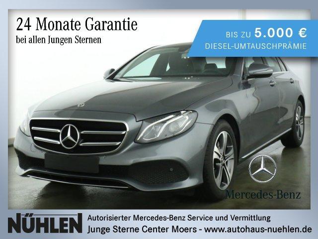 Mercedes-Benz E 200 d Limousine AVANTGARDE+LED+Automatik+PTS, Jahr 2019, Diesel