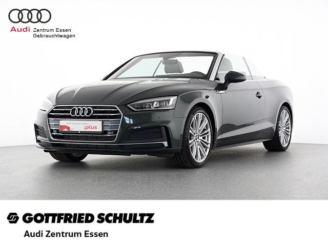 Audi A5 CABRIO SPORT 2.0 TFSI S-TRONIC S-LINE NAV LED PDC MUFU FSE, Jahr 2018, Benzin