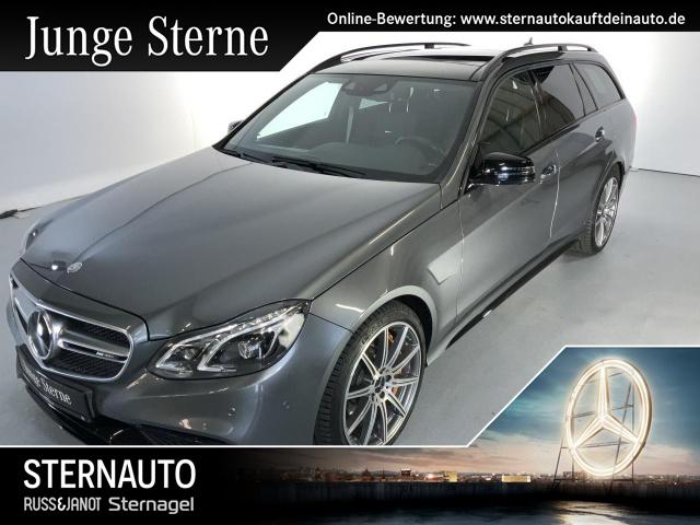 Mercedes-Benz E 63 AMG S T 4M Automatik Panoramadach COMAND ILS, Jahr 2017, petrol