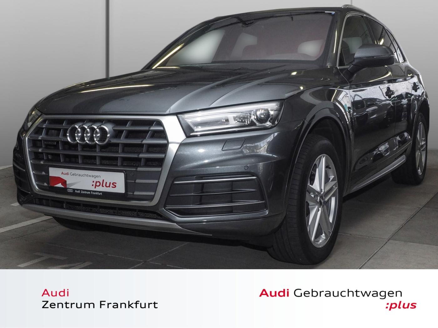 Audi Q5 2.0 TDI quattro S tronic S line Navi AHK PDC, Jahr 2017, Diesel