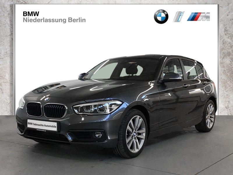 BMW 120d 5-Türer EU6 Aut. LED Navi Var.Sportlenkung, Jahr 2018, Diesel