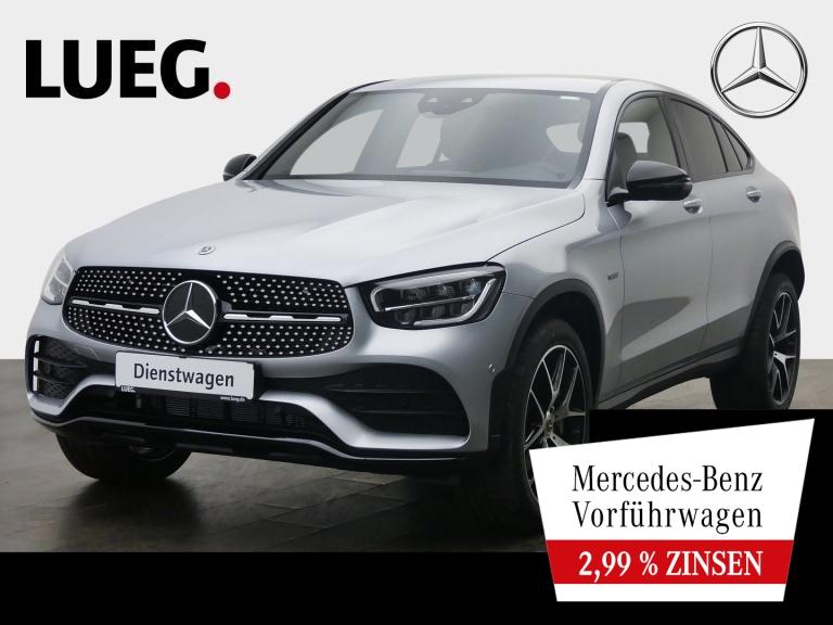 Mercedes-Benz GLC 300 de 4M Coupé AMG+NIGHT+20''+AHK+TOTW.+KAM, Jahr 2021, Hybrid_Diesel