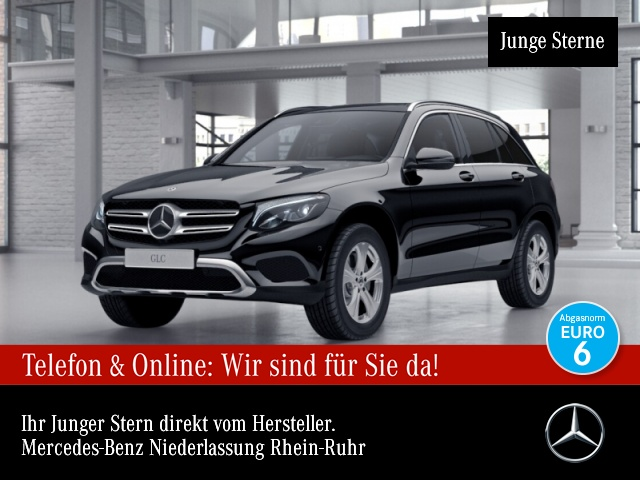 Mercedes-Benz GLC 220 d 4M Exclusive Fahrass Pano Distr. COMAND, Jahr 2018, Diesel
