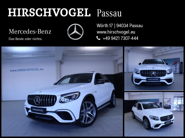 Mercedes-Benz GLC 63 AMG 4M Night+ABC+SD+AHK+DISTRONIC+Com+ILS, Jahr 2018, Benzin