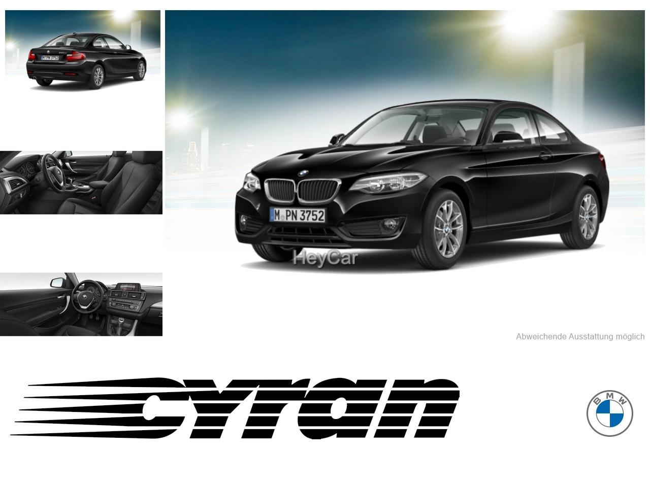 BMW 220d Coupe Klimaaut. LM Sitzhzg RFT NSW, Jahr 2015, Diesel