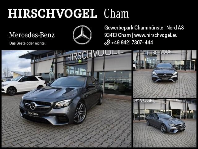 Mercedes-Benz E 63 AMG 4M+ Night+Pano+DISTRONIC+MULTIBEAM+Com, Jahr 2017, Benzin