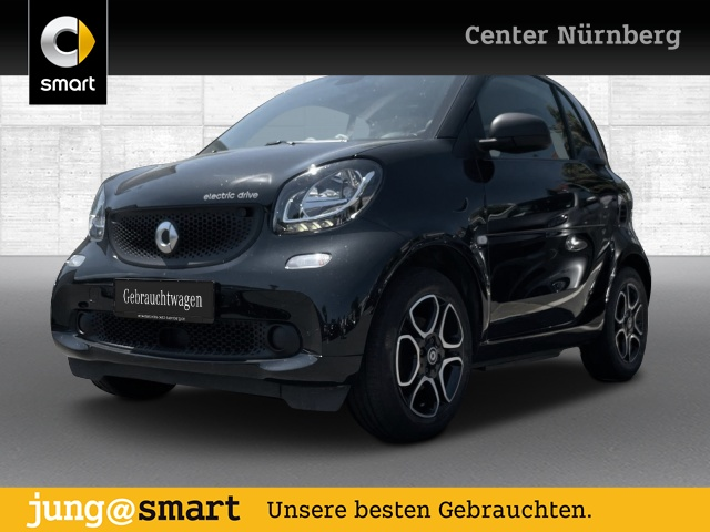 smart fortwo coupé 60kWed cool&Audio SHZ Tempom Klima, Jahr 2017, Elektro