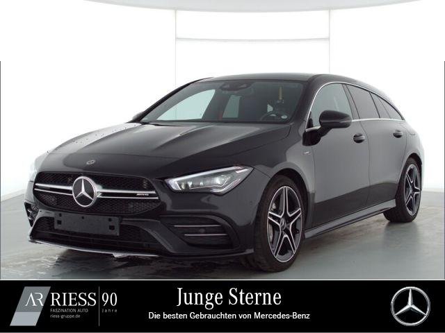 Mercedes-Benz CLA 35 AMG 4M SB Navi LED Pano AHK Kamera Ambien, Jahr 2020, Benzin