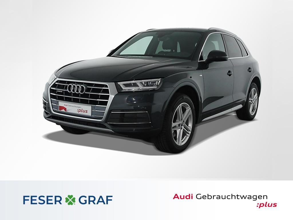 Audi Q5 35 TDI qu S tronic S Line Leder,Navi,LED,AHK, Jahr 2020, Diesel