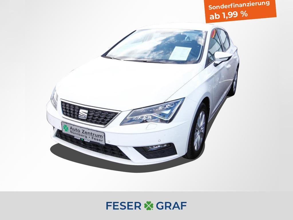 Seat Leon Style 1.5 TGI DSG 96 kW LED/Navi/PDC, Jahr 2019, Gas