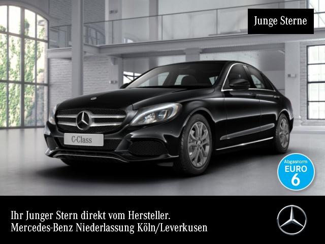 Mercedes-Benz C 180 Avantgarde LED Navi Totwinkel PTS 9G Sitzh, Jahr 2018, Benzin
