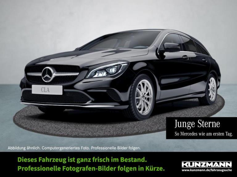 Mercedes-Benz CLA 220 d SB Navi LED PanoramaSD Distronic SpurP, Jahr 2017, Diesel