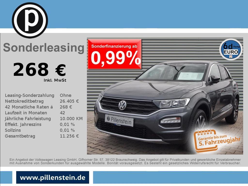 Volkswagen T-Roc 1.6 TDI Style STANDH NAVI SITZH PDC Alu-17, Jahr 2020, Diesel