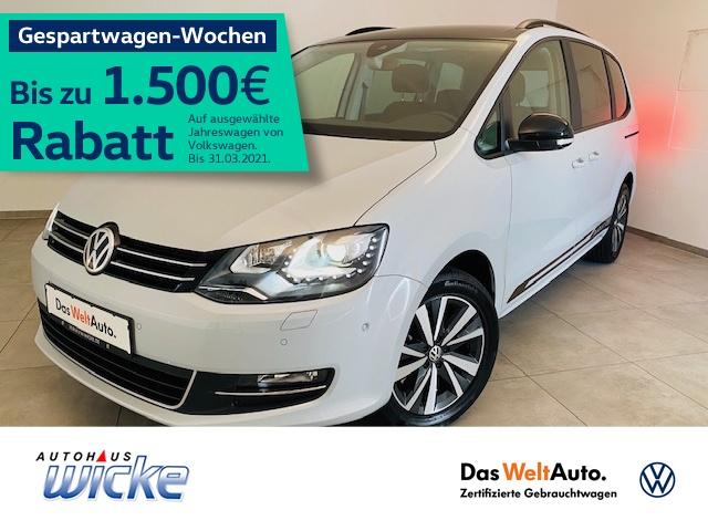 Volkswagen Sharan 2.0 TDI DSG Style ACC Xenon Navi DAB EU6, Jahr 2019, Diesel