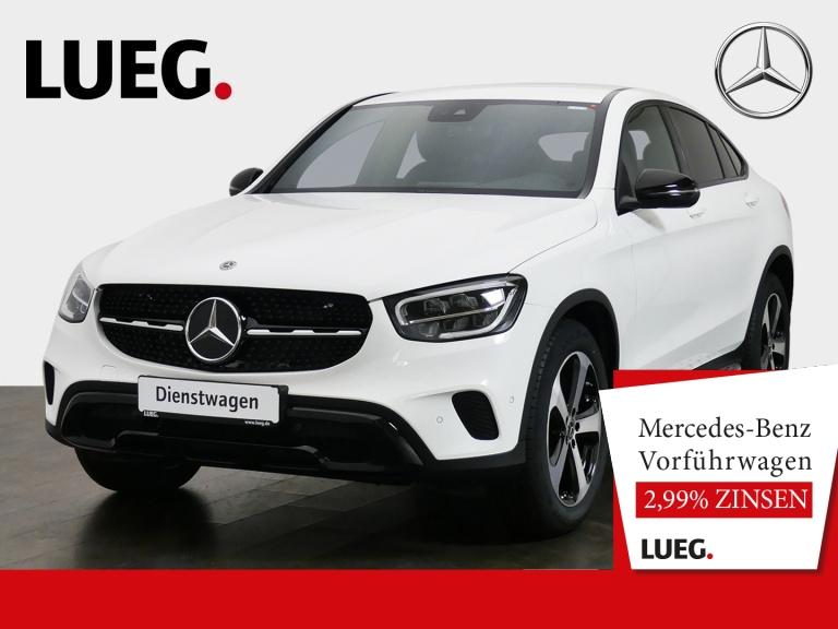 Mercedes-Benz GLC 200 4M Coupé NIGHT+19''+DISTRONIC+TOTW+KAMER, Jahr 2020, Benzin