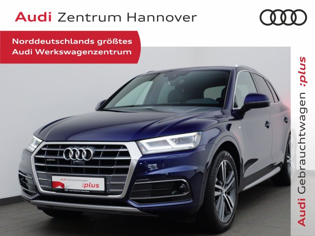 Audi Q5 2.0 TDI qu. S-line, HUD, Pano, Matrix, virtual, Leder, ACC, Jahr 2017, Diesel