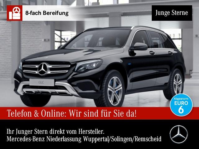 Mercedes-Benz GLC 350 e 4M Pano LED AHK Kamera PTS Sitzh Chromp, Jahr 2017, Hybrid
