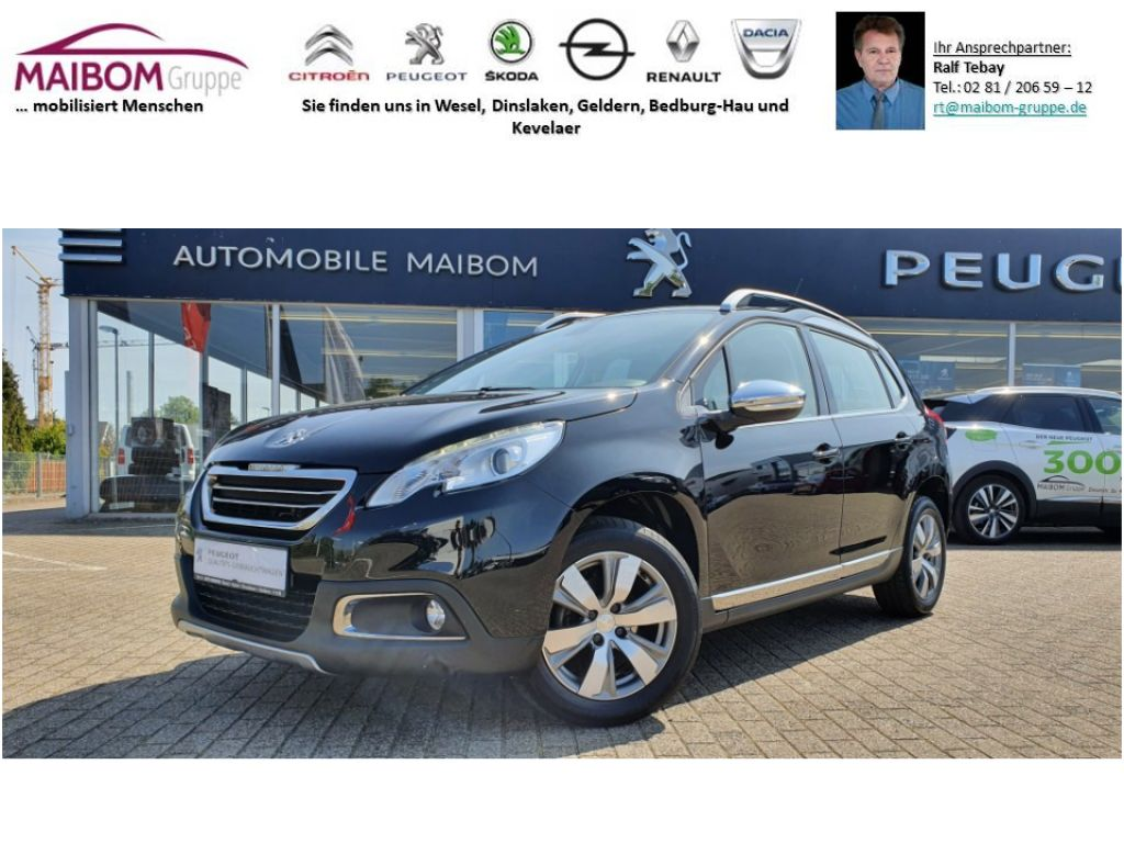 Peugeot 2008 Allure PureTech 82 *Navi*Leder*Sitzheizung, Jahr 2016, Benzin