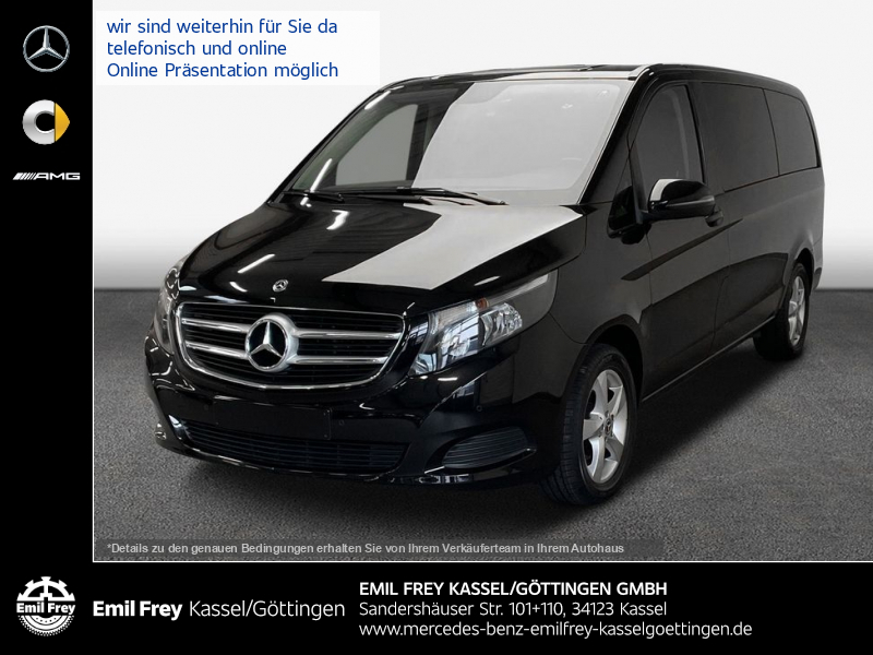 Mercedes-Benz V 220 BT d lang 7G+AHK+AkustikPaket+schwarzglas, Jahr 2018, Diesel