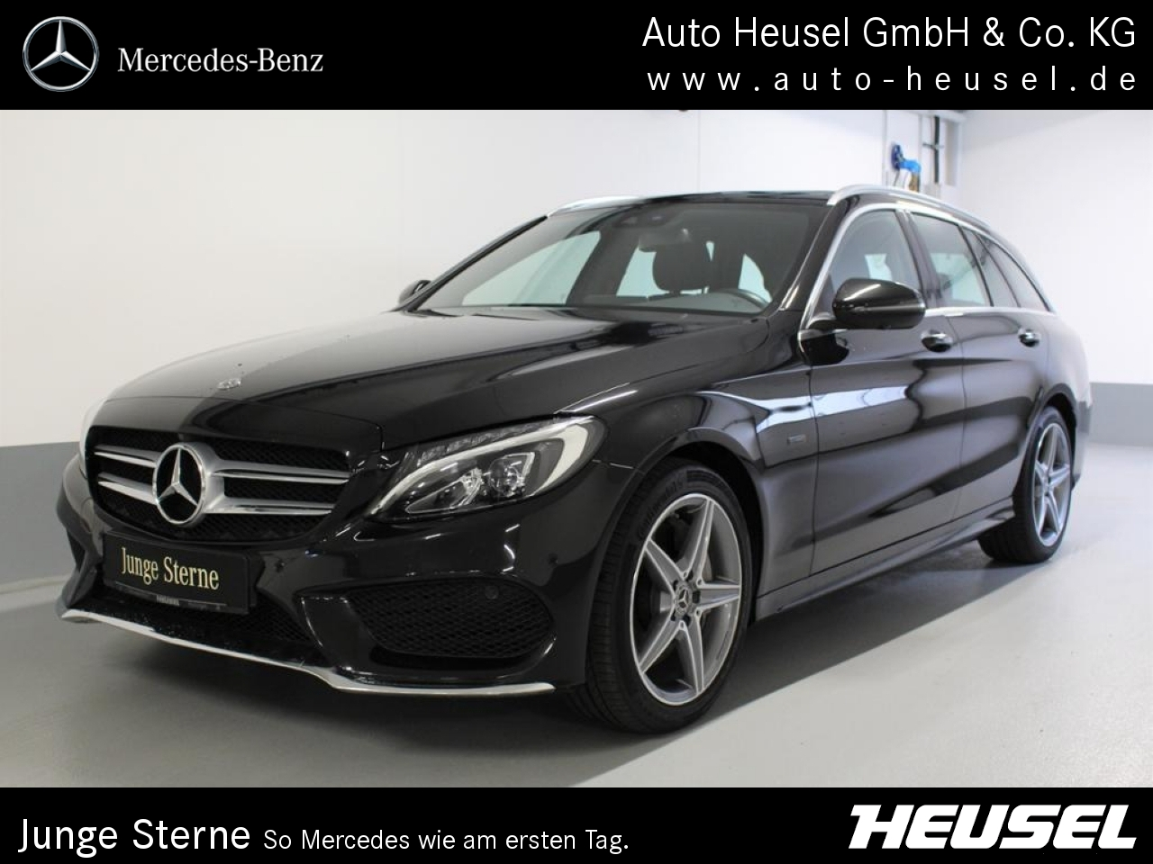 Mercedes-Benz C 350 e T AMG *PSHD*Comand*360°*Ambientebel.*, Jahr 2018, Hybrid