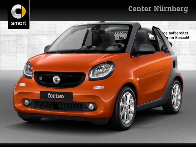 smart fortwo cabrio 60kWed cool&Media SHZ LED Kamera, Jahr 2017, Elektro