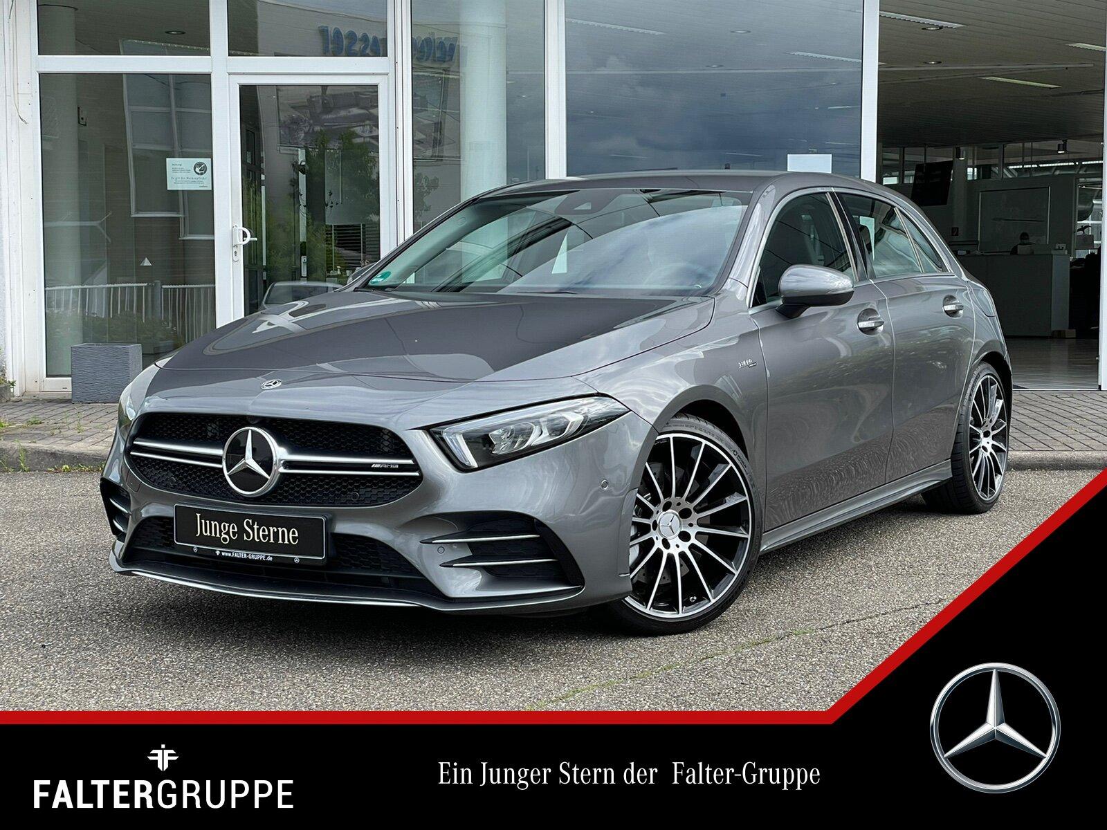 "Mercedes-Benz A 35 AMG 4M NaviPrem LED Kamra PTS 19""Vielsp SHZ, Jahr 2019, petrol"