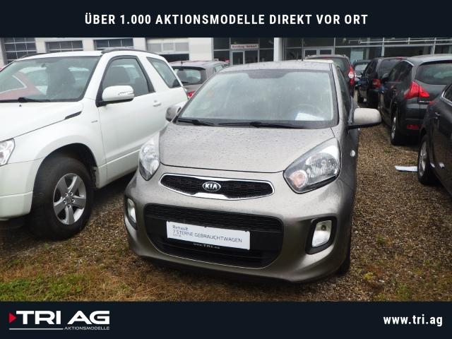 Kia Picanto Dream Team 1.2 Multif.Lenkrad RDC Klimaautom SHZ CD AUX USB MP3 ESP Seitenairb., Jahr 2015, Benzin