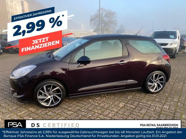 DS Automobiles DS3 SoChic 1,2l110PS Automatik Sitzheizung|, Jahr 2017, Benzin