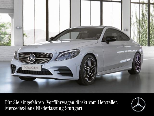 Mercedes-Benz C 300 Coupé AMG+Night+360+MultiBeam+Fahrass+9G, Jahr 2020, Benzin