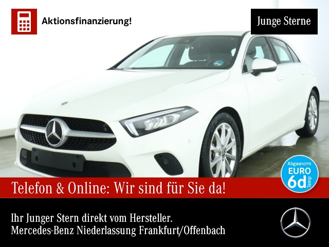 Mercedes-Benz A 200 Progressive Navi Premium LED Spurhalt-Ass, Jahr 2020, Benzin